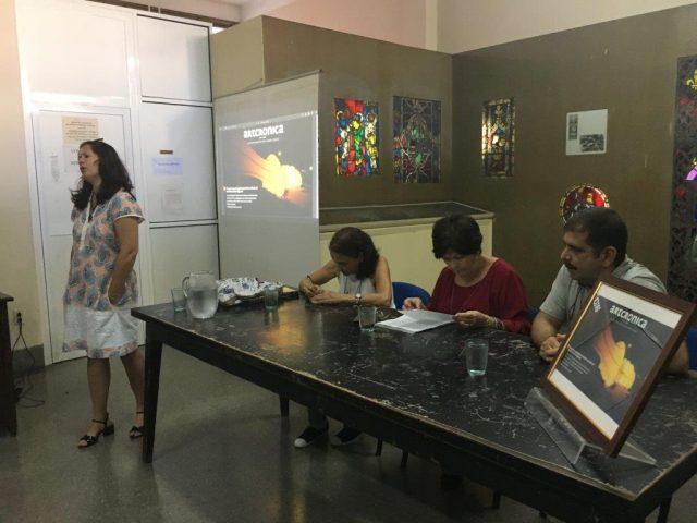 Palabras de presentación de la revista digital Artcrónica