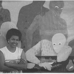 arte cubano Belkis Ayón Manso (Artista cubana contemporánea)