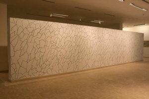 Vistas de la exposición Tramas. Gustavo Pérez Monzón / Museo Nacional de Bellas Artes de La Habana
