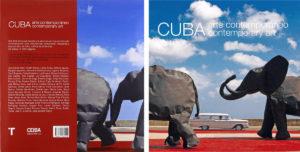 Portada y contraportada del libro CUBA Arte Contemporáneo / Ceiba Publications LTD