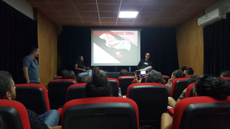artista net-art Vuk Cosic en La Habana