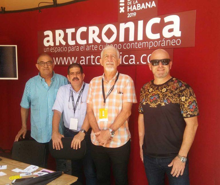 Repercusión del stand Artcrónica en la XIII Bienal de La Habana