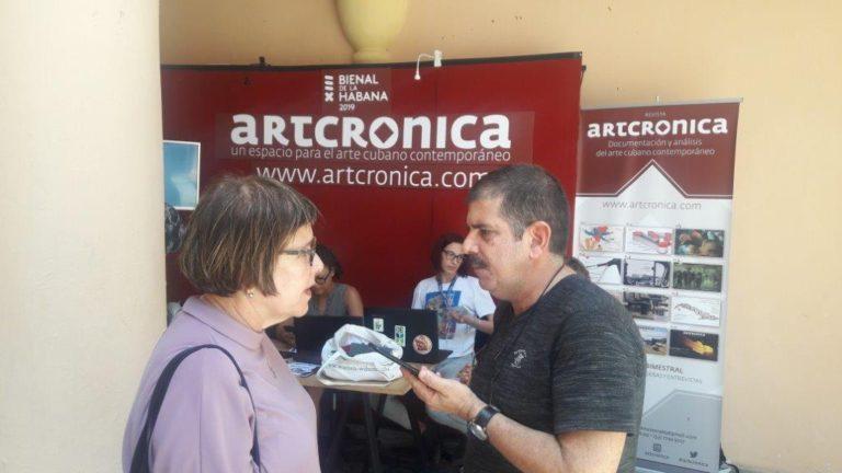 Una fundadora de la Bienal de La Habana conversa con Artcrónica