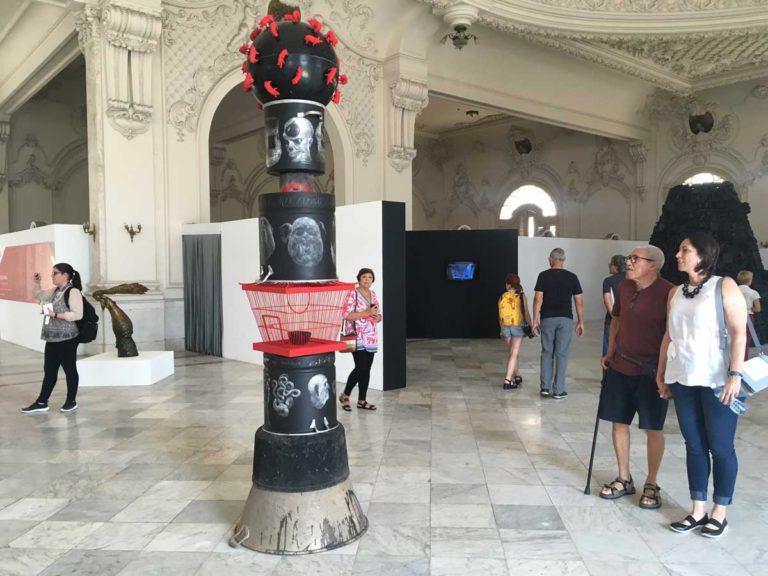 Arte cubano contemporáneo en Exposición HB
