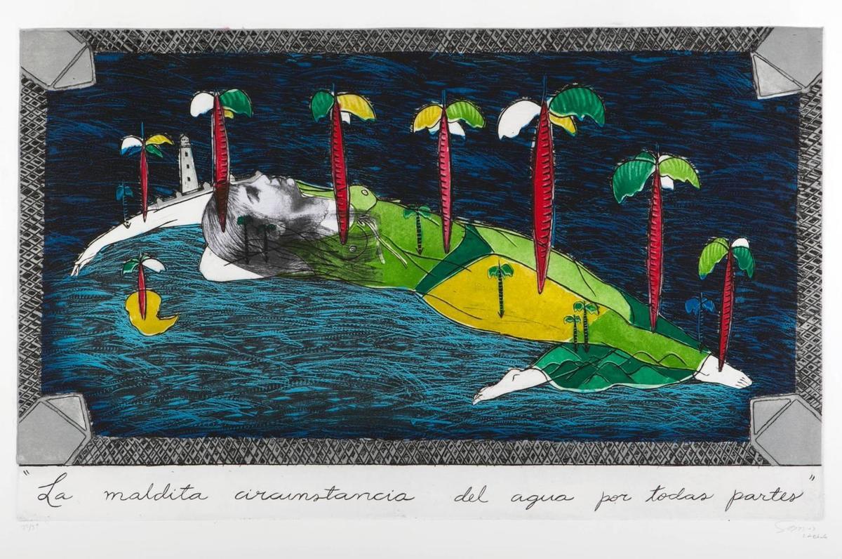 Sandra Ramos. La maldita condición del agua por todas partes (1993)
