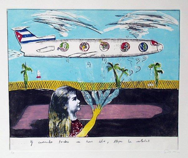 Sandra Ramos. Y cuando todos se han ido, llega la soledad. (1992-1993)