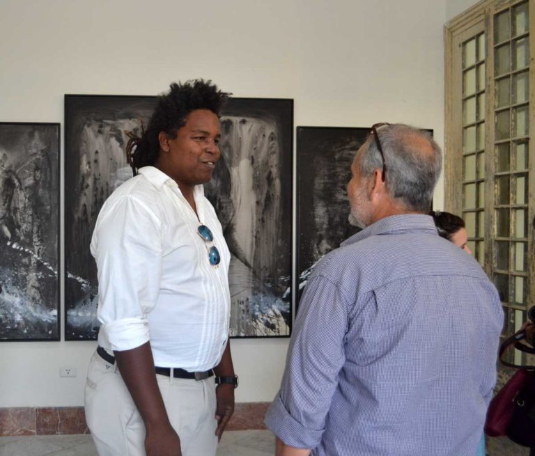 Alejandro Lescay artista cubano
