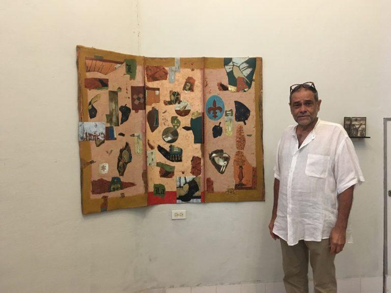 Ángel Ramírez expone en la Bienal de La Habana