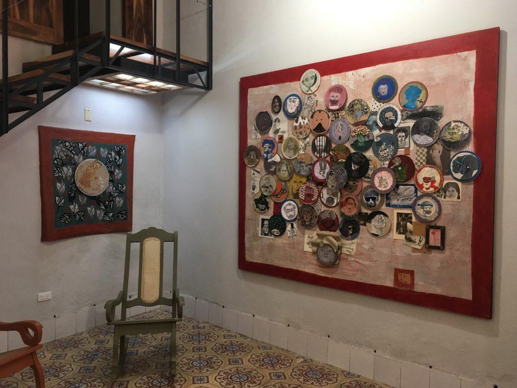 artista cubano Ángel Ramírez expone en la Bienal de La Habana