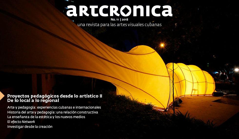 Revista Artcrónica Edición No-11, 2018 (Arte Cubano Contemporáneo)