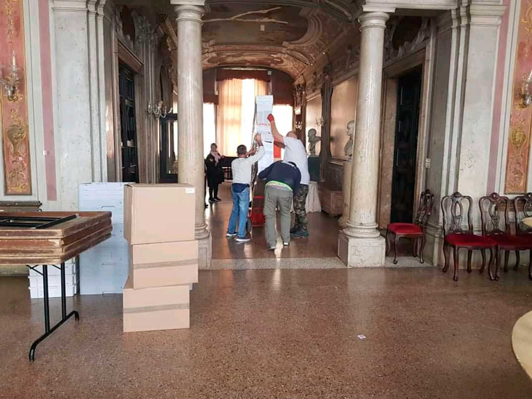 Muestra de arte cubano arriba al Palacio Zenobio-3