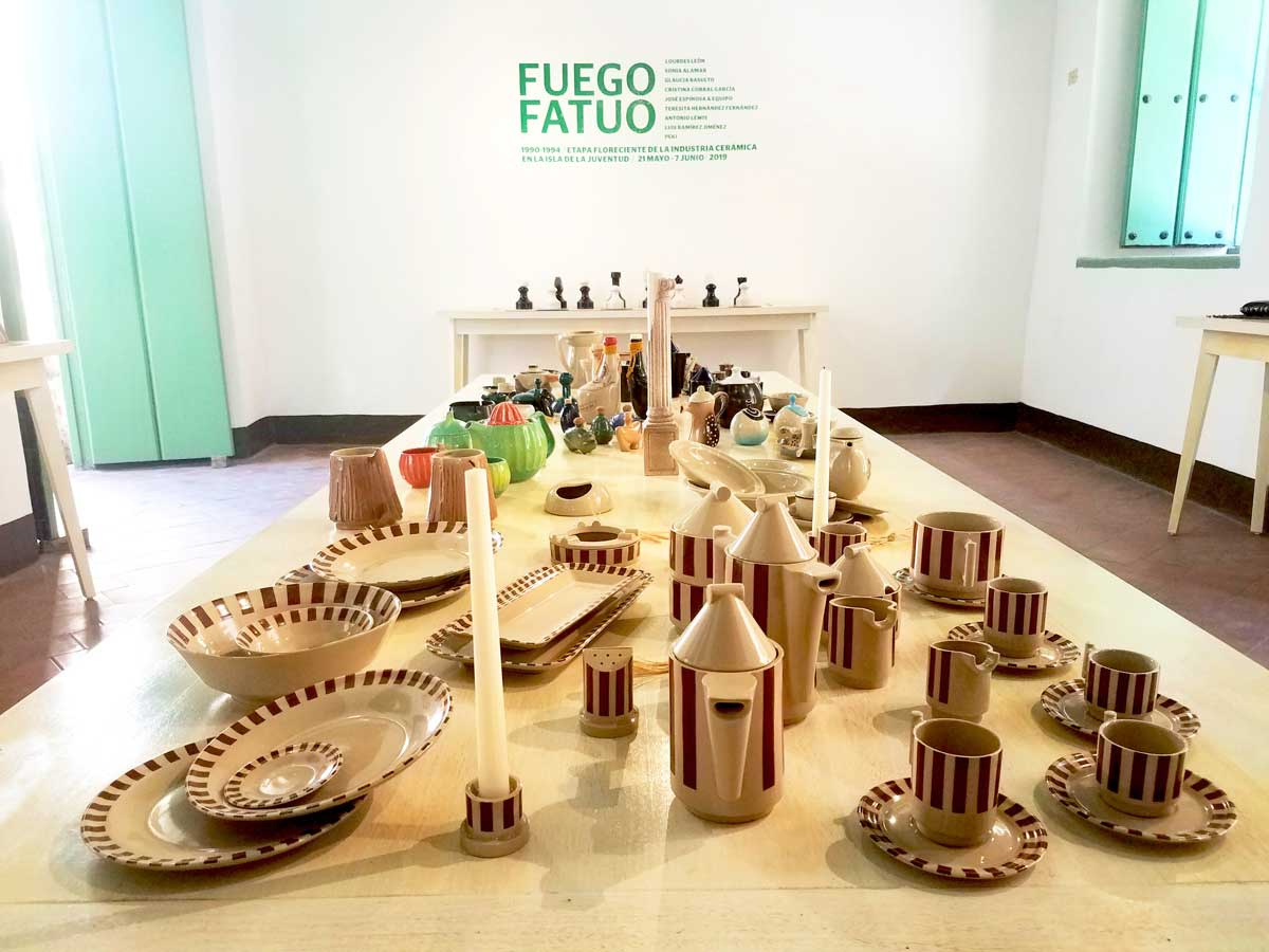 Exposición FUEGO FATUO EN MUSEO CERÁMICA