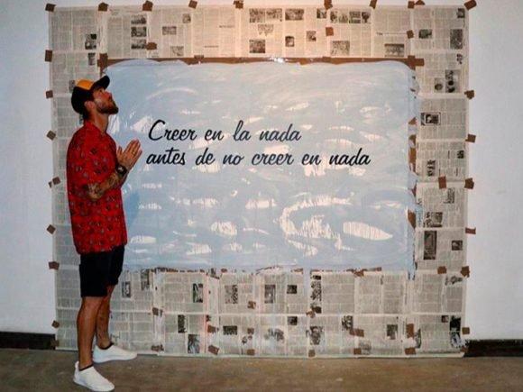 Sergio Ramos en su visita a la Habana