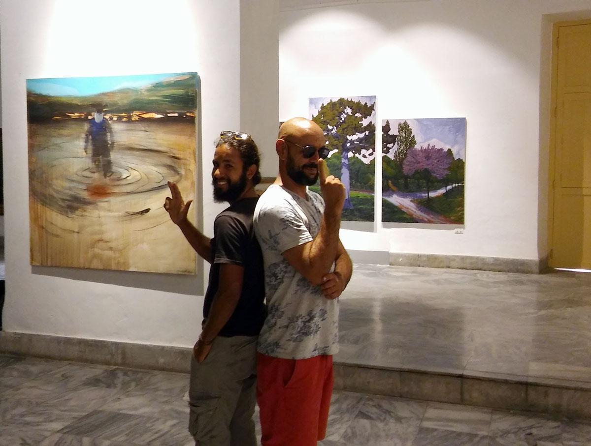 """Elogio de la sombra: dos pintores en """"duelo"""""""