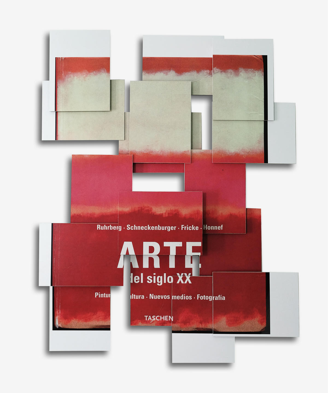 Arte Siglo XX-Cover. 2015. Impresión sobre vinilo, PVC y madera. 95 x 78 x 8 cm.