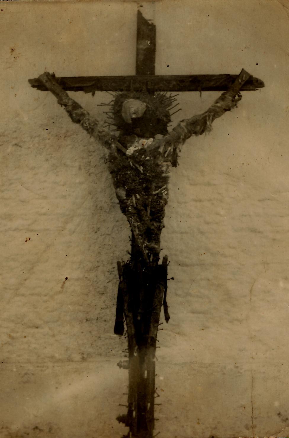 Reinaldo González Fonticiella. El Cristo. Década del 60.