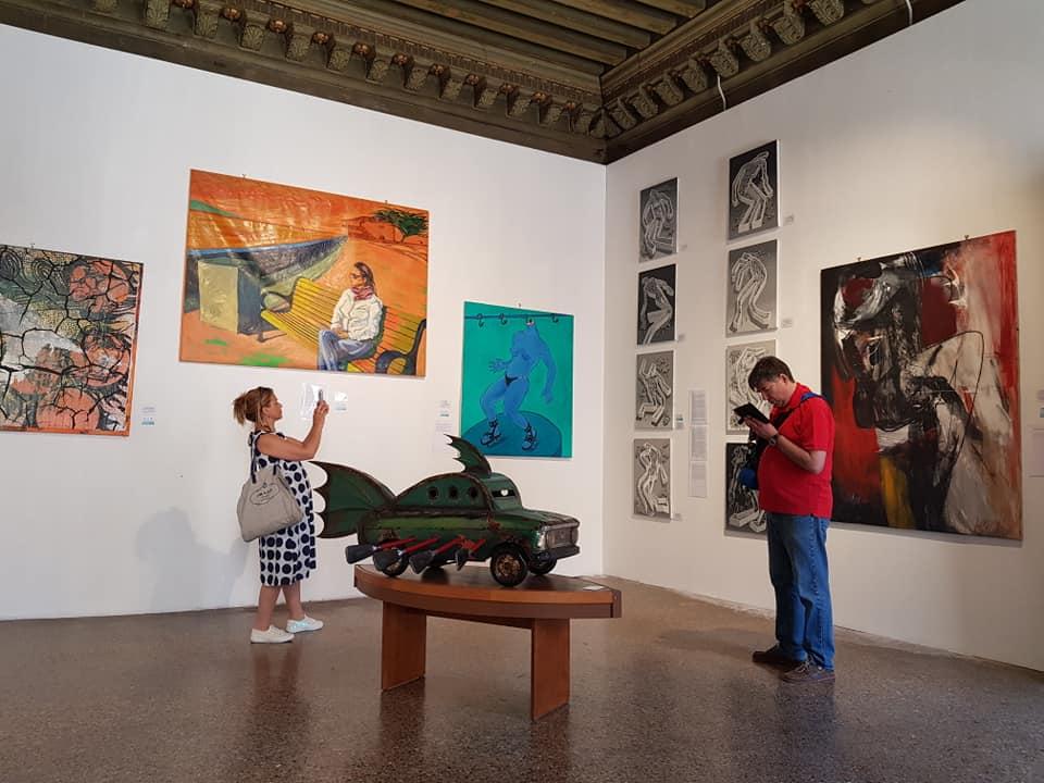 Arte Cubano en el Palacio Zenobio