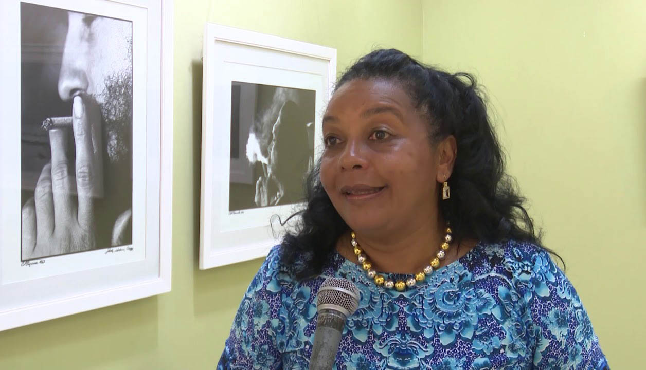 Grettel Arrate en entrevista