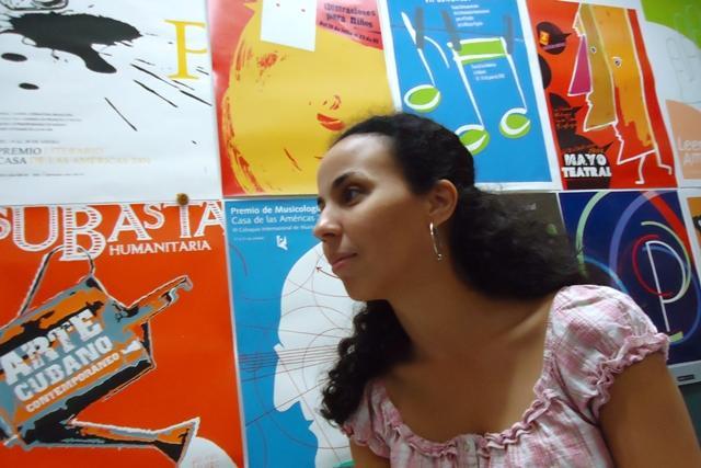 nahela hechavarria, crítica de arte cubano