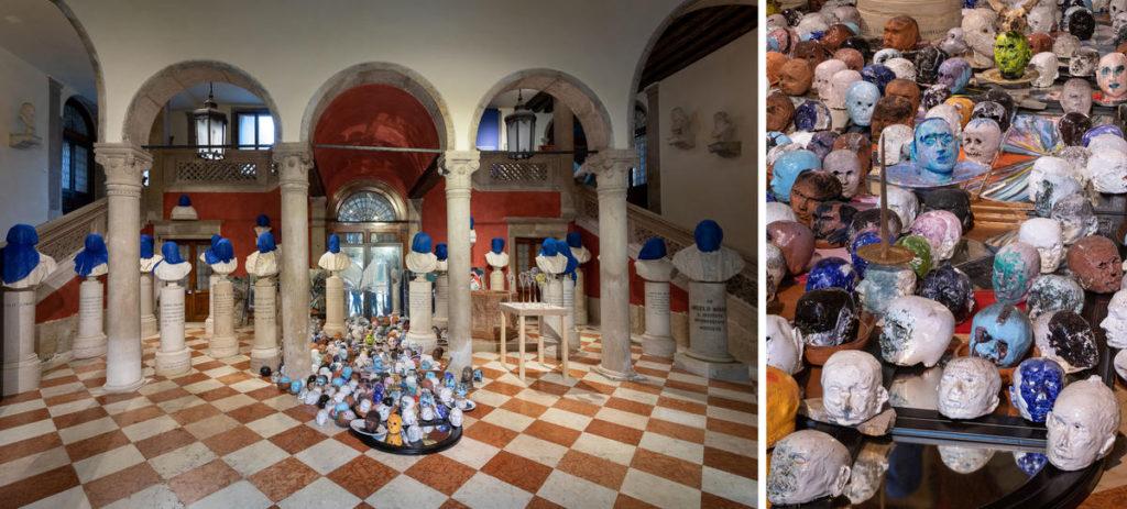 Carlos Quintana / Muertos Mayores Muertos Menores / Vista general y detalle de la exposición IN FINITO / Imágenes Pérez & del Valle