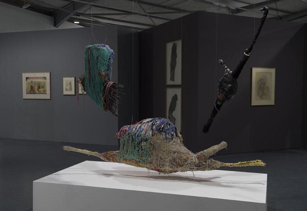 Obras de la Colección abcd/ Bruno Decharme (Francia), exhibidas en La Maison Rouge, París (Francia).