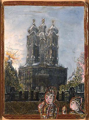 Willen van Genk- Catedral Smolny Leningrado, 1966