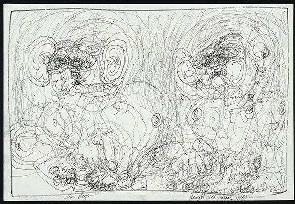 Dwight Mackintosh - Sin título, 1989