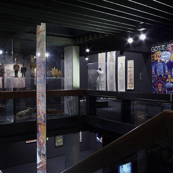 Sección interior de la Collection de l'Art Brut, Lausanne, Suiza.