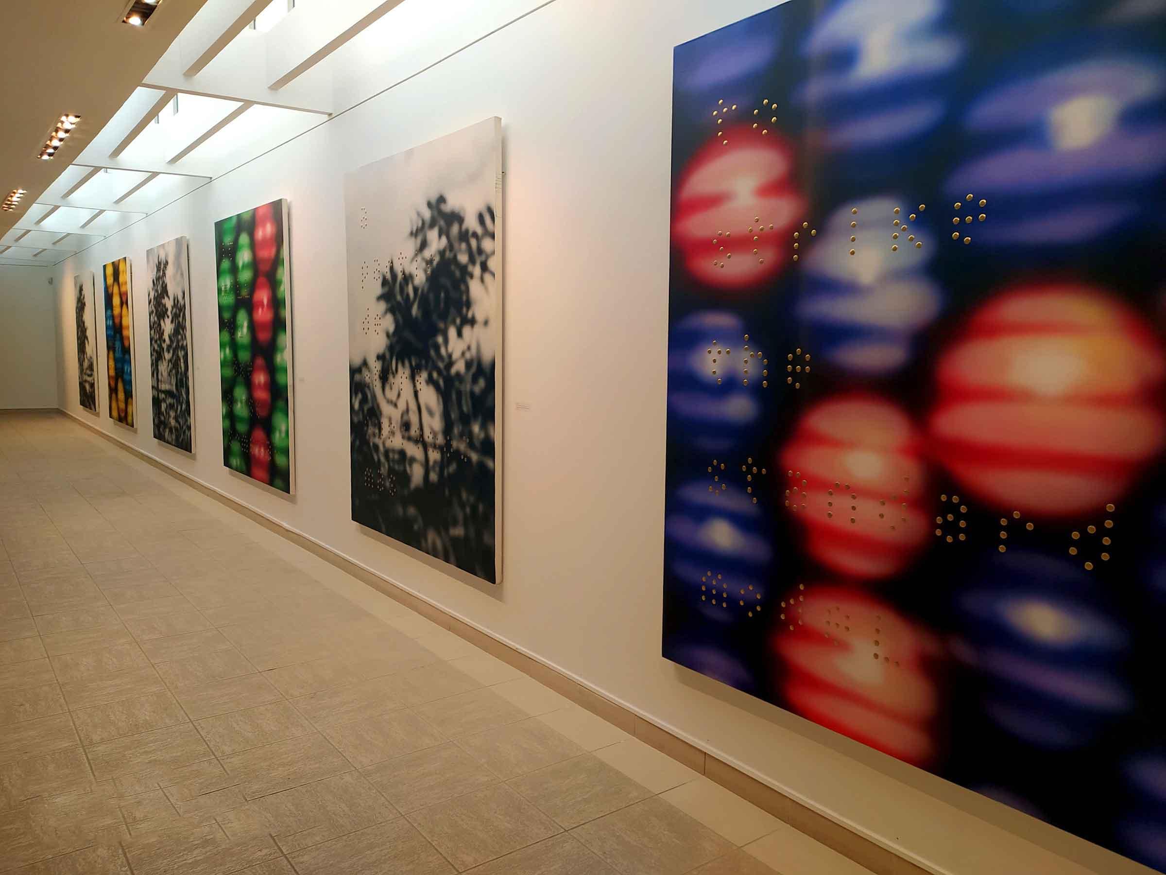 artista cubano Raúl Cordero. Entre moléculas, imágenes y textos