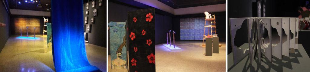 Galería Raúl Oliva del Centro Cultural Bertolt Brecht. espacios de exhibición