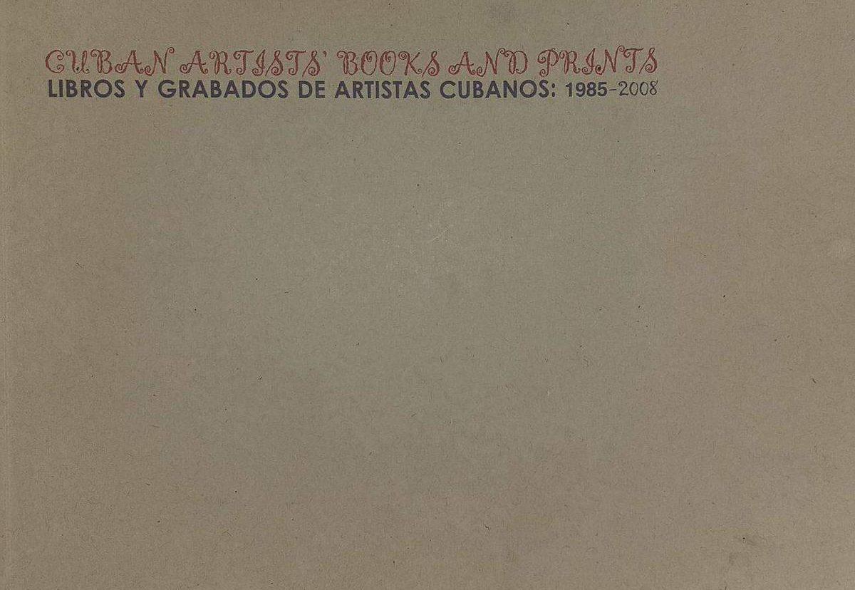 Libros y grabados de artistas cubanos