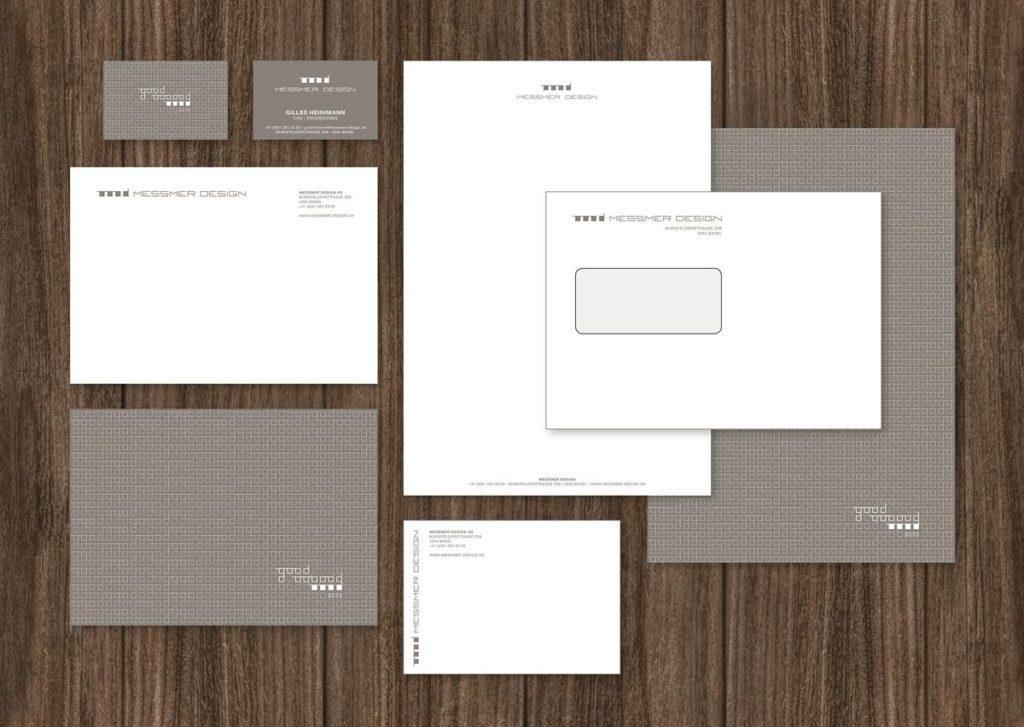 Identidad visual para la agencia de diseño con sede en Basilea Messmer Seiler Design