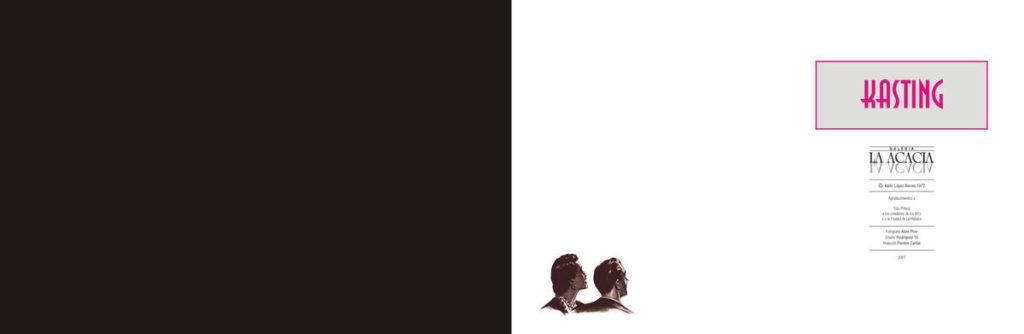 Catálogo promocional de exposición Kasting. Kadir López. 2007