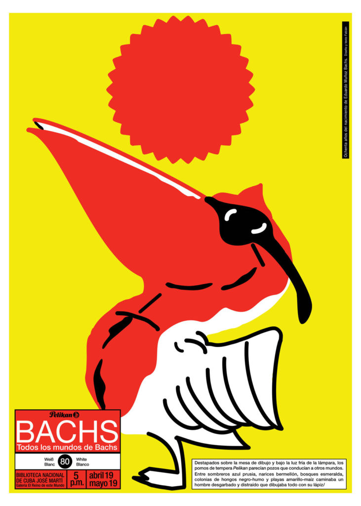 Cartel de exposición Eduardo Muñoz Bachs