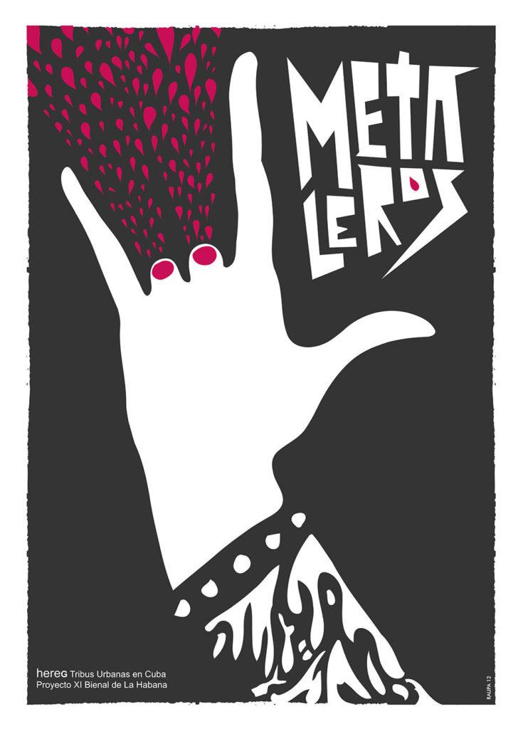 Cartel de exposición XI Bienal de La Habana