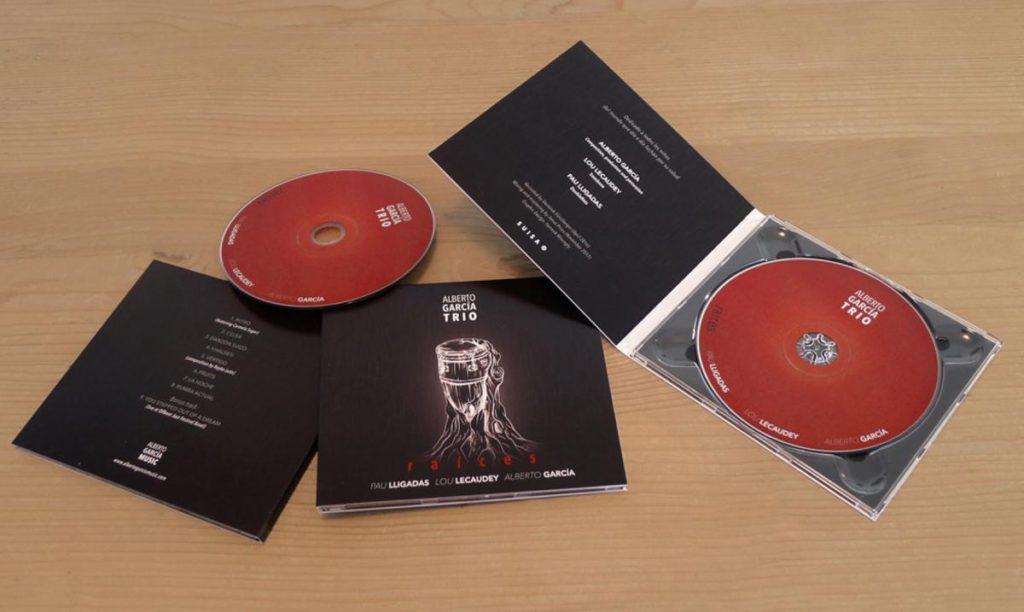 Identidad visual y diseño de CD para el músico Alberto García