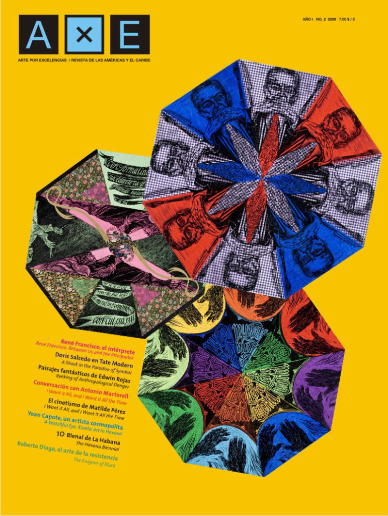 Propuesta portada revista Arte x Excelencias