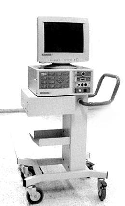 Monitor de parámetros fisiológicos modulares, 1992. Diseño de Sergio Peña y Pedro García Espinosa.