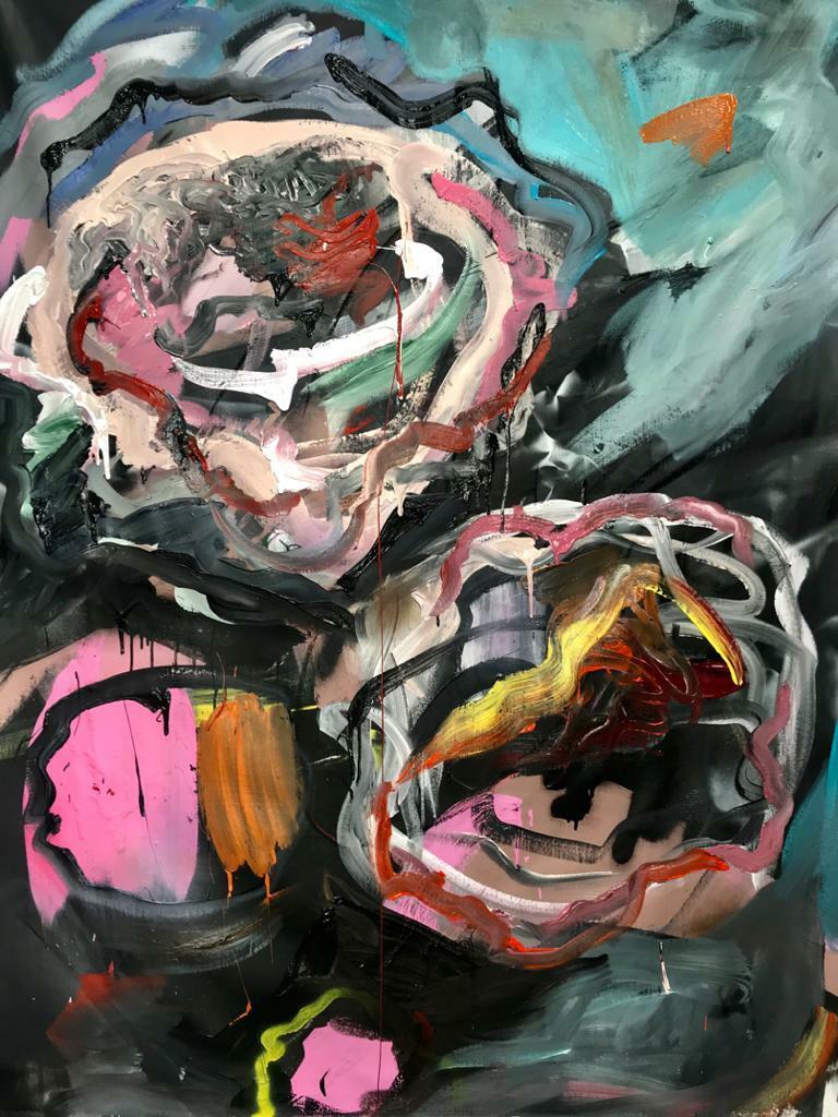 Isabel. 2020. Mixta. 200 x 150 cm