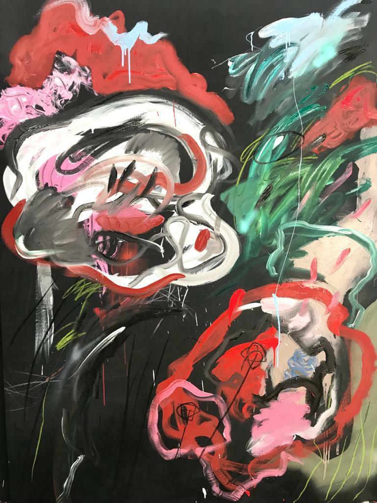 Juana. 2020. Mixta. 200 x 150 cm