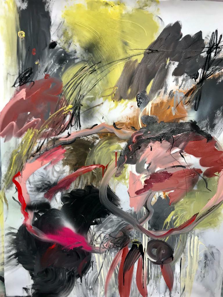Susana. 2020. Mixta. 165 x 125 cm