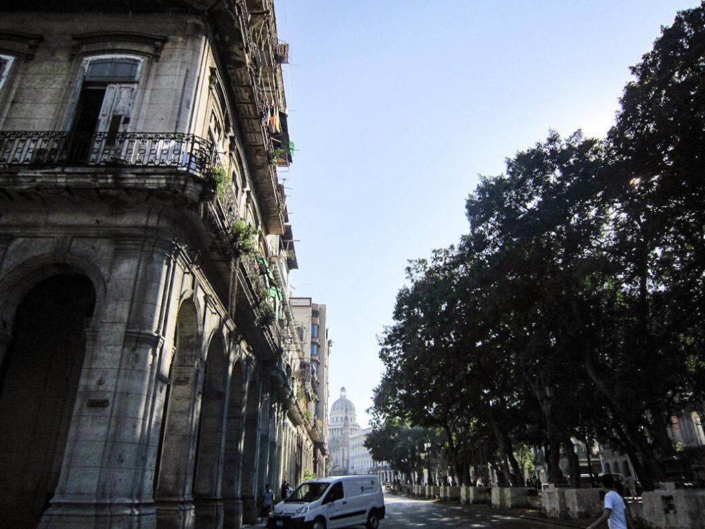 Figura 2. Allá lejos, el Capitolio, símbolo fundamental. (Foto de Ángela Rojas, 2013).