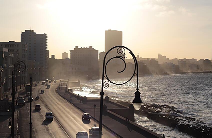Figura 3. El Malecón, complejo y hermoso. (Foto de Laura Morejón, 2014).