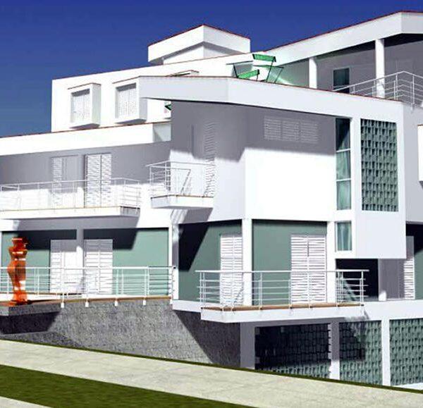 Viviendas para 25 y 38, Nuevo Vedado, La Habana. Arquitecto Osviel Carrillo.