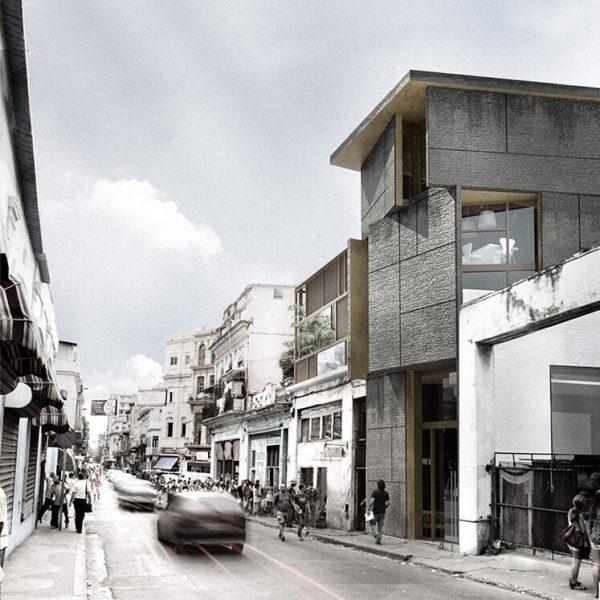 Restaurante La Barbacoa. Martínez Becerra arquitectos.