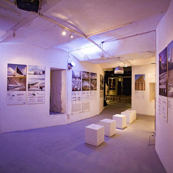 Exposición Arquitectura y diseño. Francisco Mangado (2014: de España), presentada en FAC, La Habana. (Foto: Ernesto Jiménez).