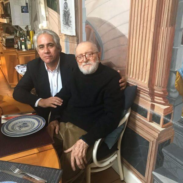 Jorge Fernández y Vittorio Garatti.